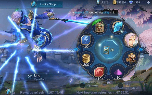 Trik Dan Tips Lucky Spin Hero Ling Mobile Legends Mei 2021